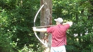 How to Make a Bow - PVC Bow - Quick and Easy