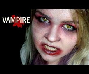 Undead Vampire Makeup
