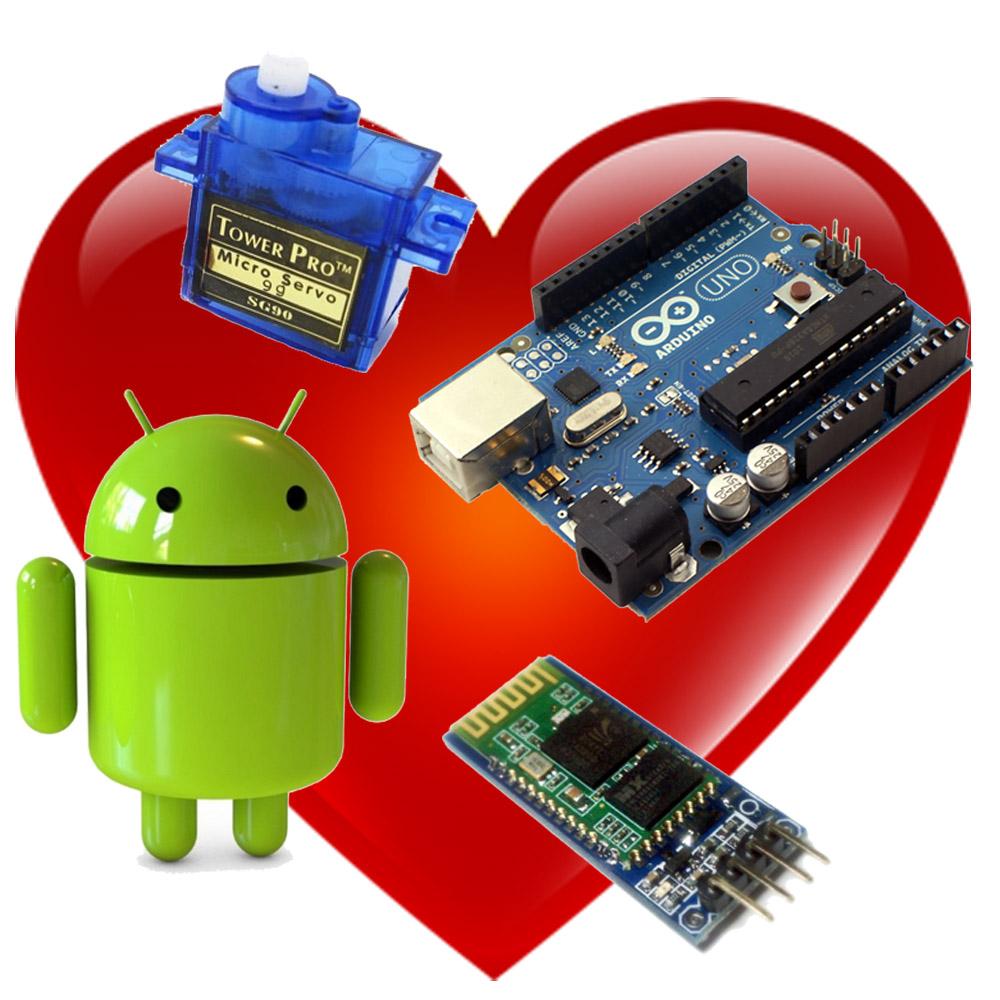 Aurduino + Android + Bluetooth = Naughty / Nice Meter - Part 1 of 2