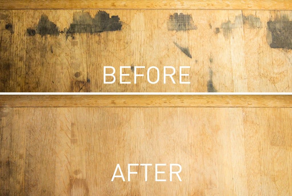 Removing Black Stains In Wood Furniture With Oxalic Acid 6 Steps Pictures Instructables - How To Remove Water Stains From Hardwood Table
