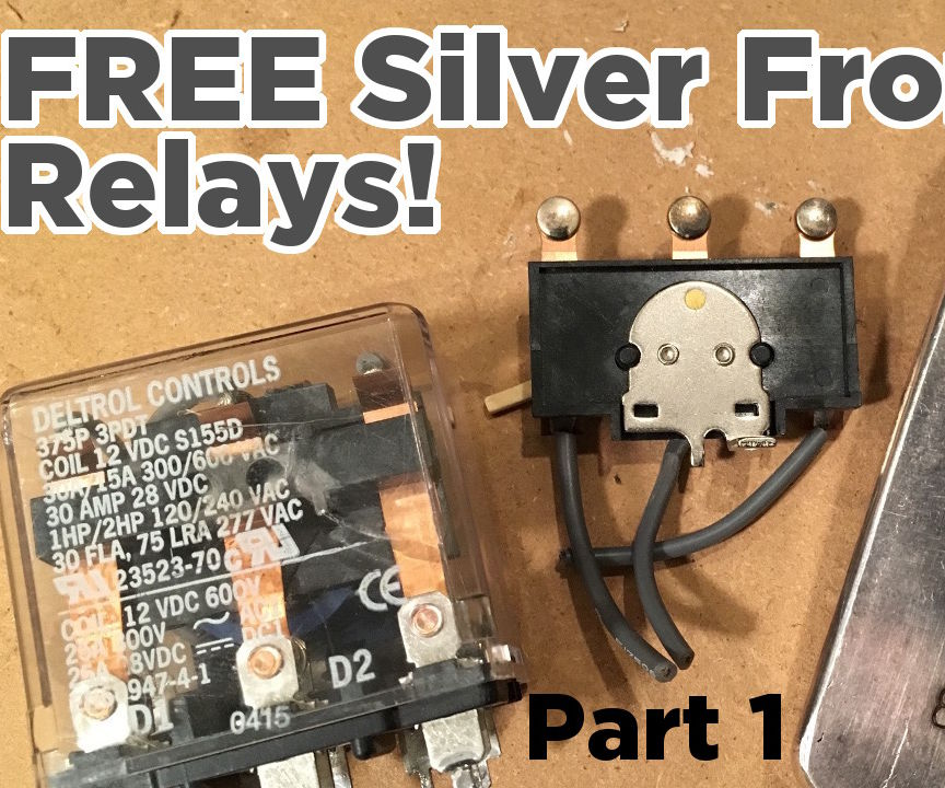 Extract FREE Silver From Relay Contacts | Where to Find Them?
