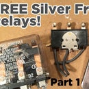 Extract FREE Silver From Relay Contacts   Where to Find Them?