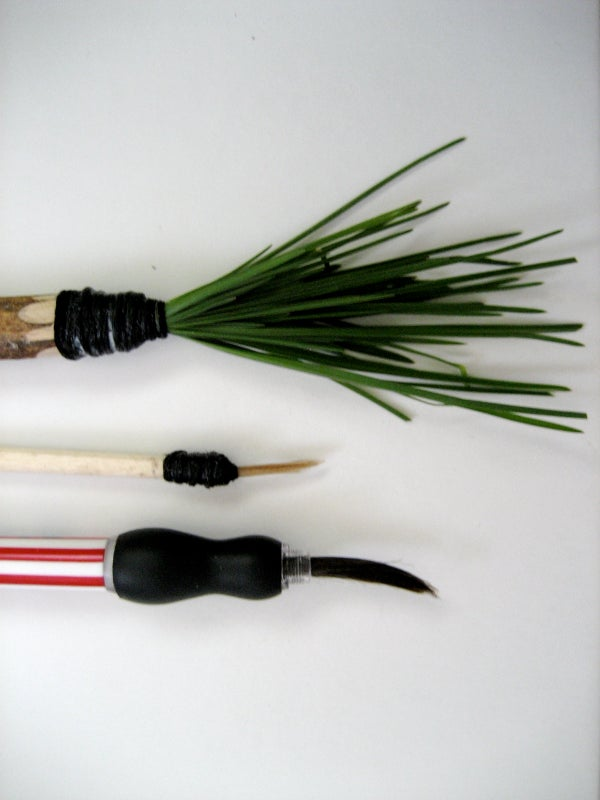 Making Your Own Paintbrushes