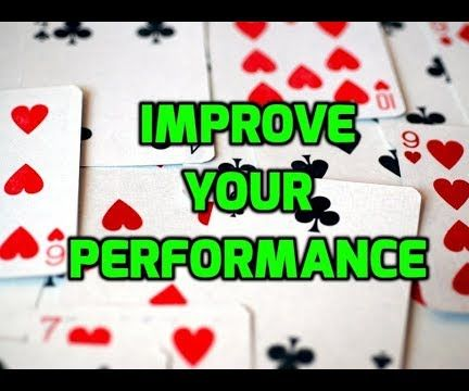 How to Practice and Improve Your Magic Performance