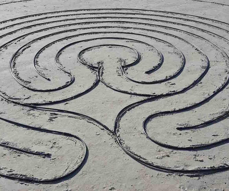 Portable Walking Labyrinth
