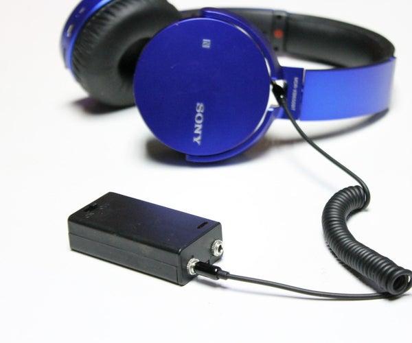 Mini Headphone Amp