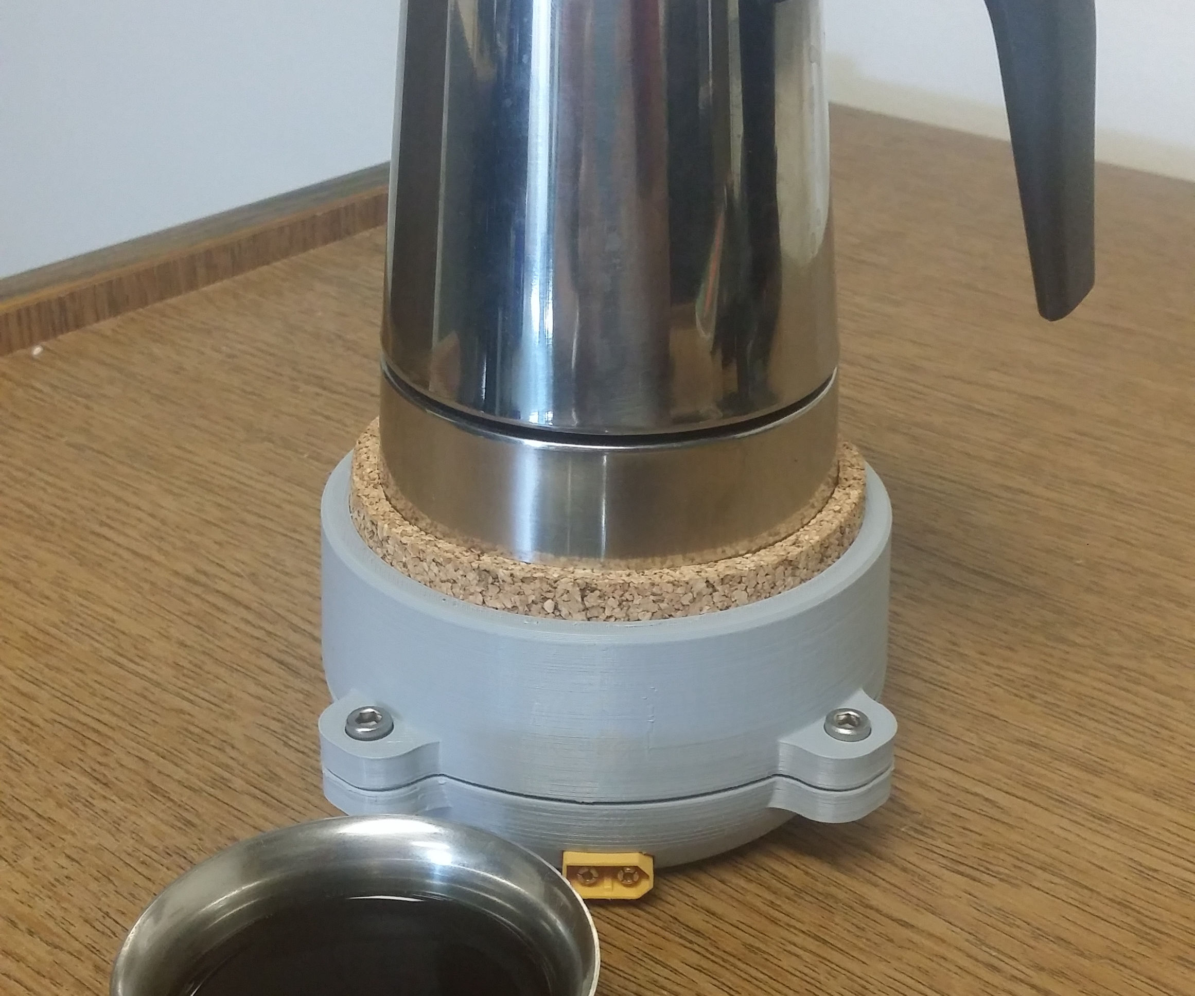 Outdoor 3D Printed Coffee Pot