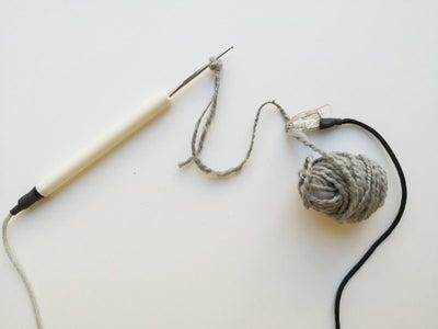 ETextile Connectable Needlework Tools: Crochet Hook