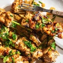 Grilled Lemongrass Chicken Satay