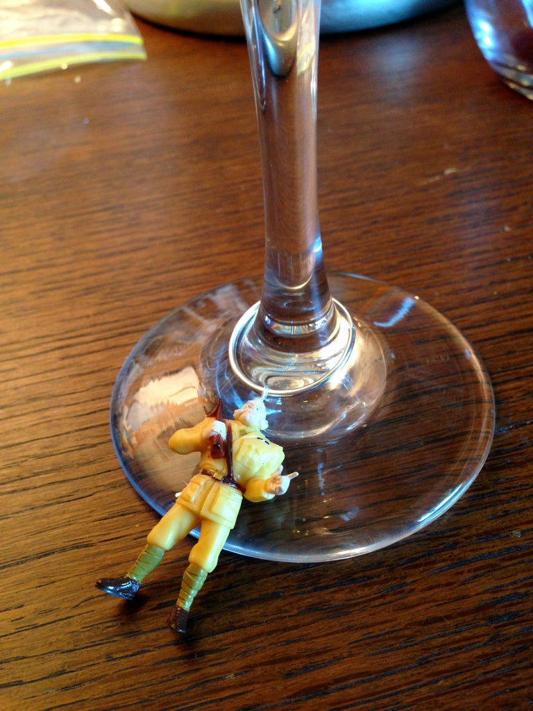Finish the Wine Charms