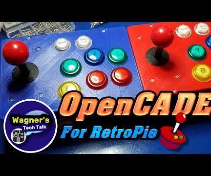 OpenCADE an Open and Modular Platform for Building a Retro ARCADE Console