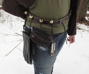 Paracord Hiking Belt