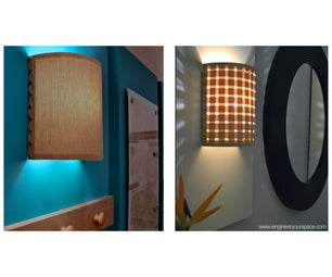 How to Make a Wall Lamp (sconce)