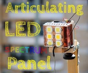 Articulating 70W Spectrum-Balanced LED Panel