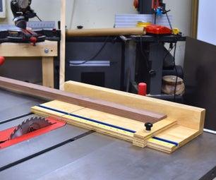 Mini Table Saw Crosscut Sled