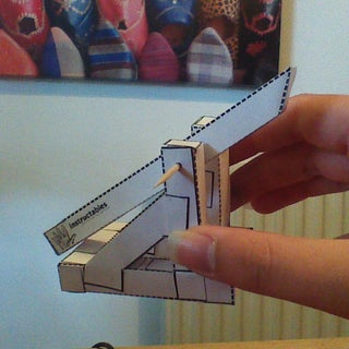 Launch It: the Paper Catapult.