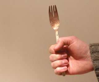 Handmade Copper Fork
