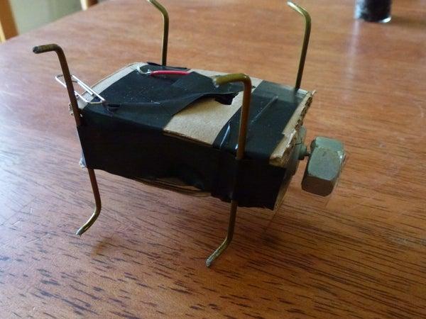 Speedy Vibrobot From Scratch (no Soldering, No Programming)