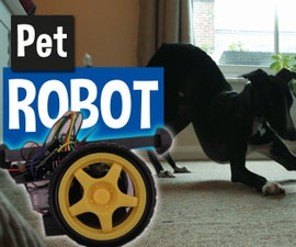Pet Robot Ball