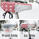 Plastic Bag Bike Seat Cover