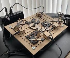Wooden Gear DIY Drum Machine