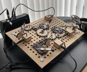 木制齿轮DIY鼓机