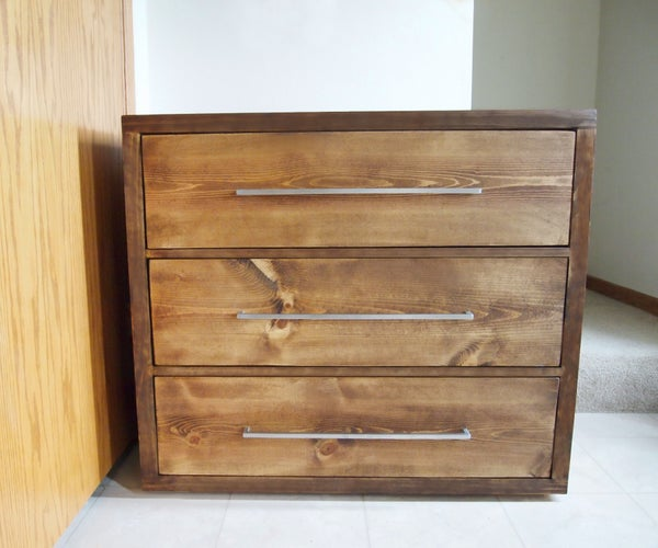 How to Build a Modern Dresser - With Few Tools