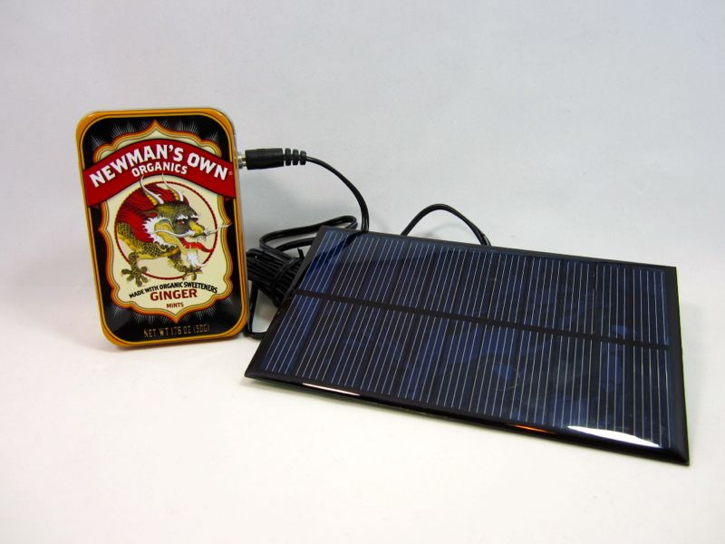 DIY Solar USB Charger