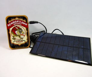Lithium Battery Solar USB/ IPhone/ Arduino Charger