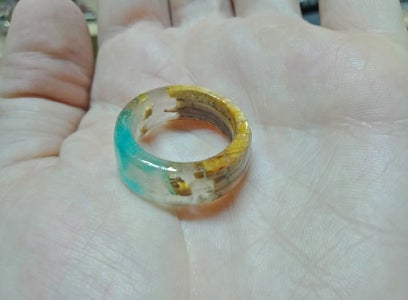 Round Secret Wood Ring