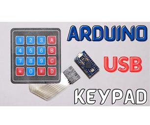 Arduino USB键盘