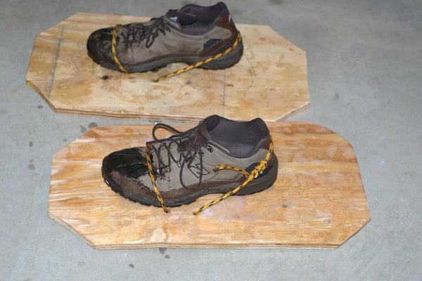 DIY Snowshoes