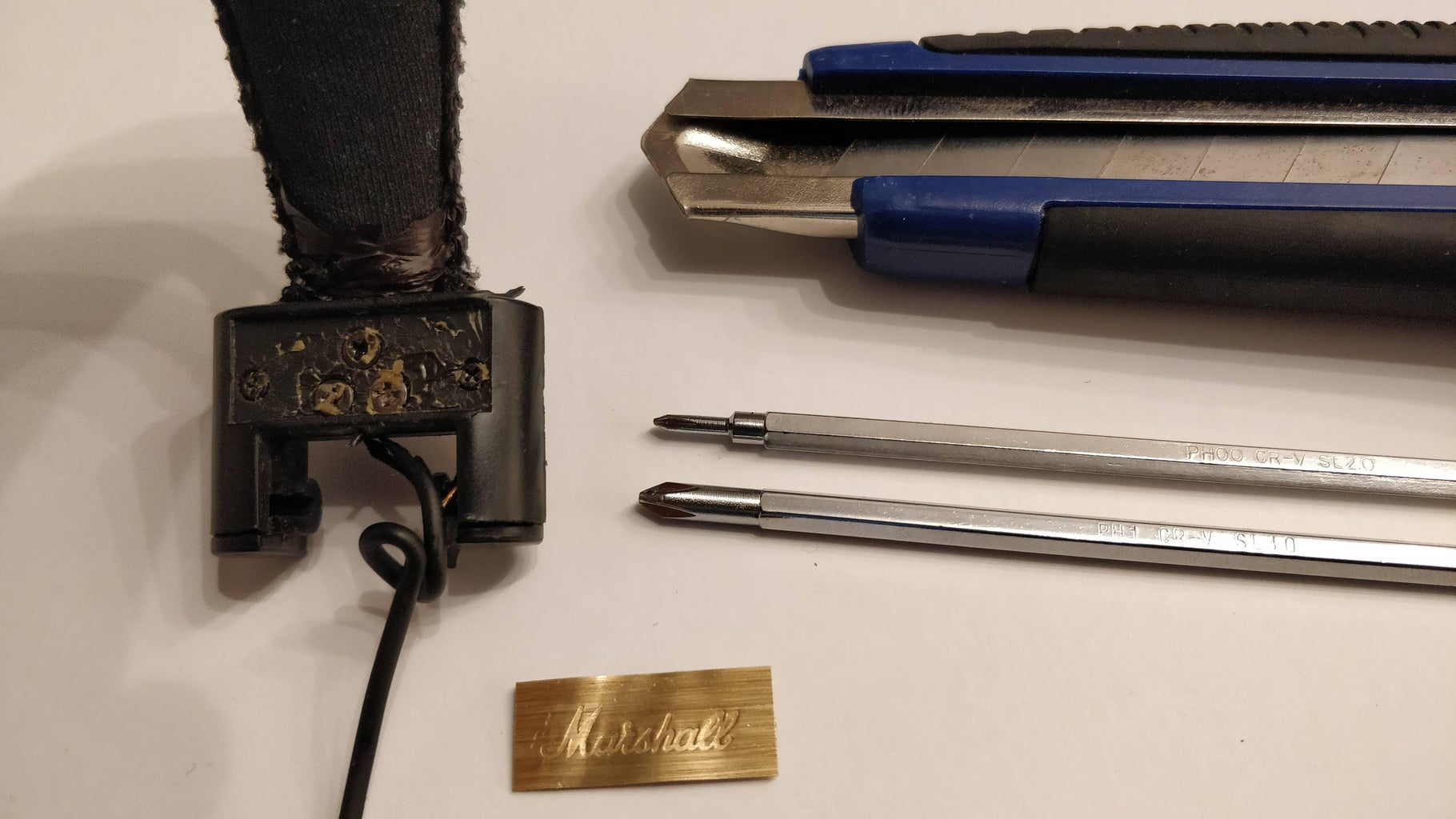 Headband Disassembly and Wire Replacement