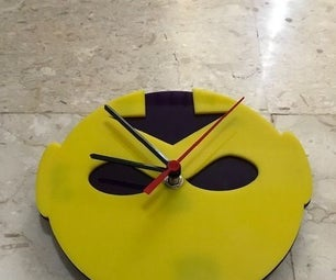 Acrylic Avatar Themed Clock