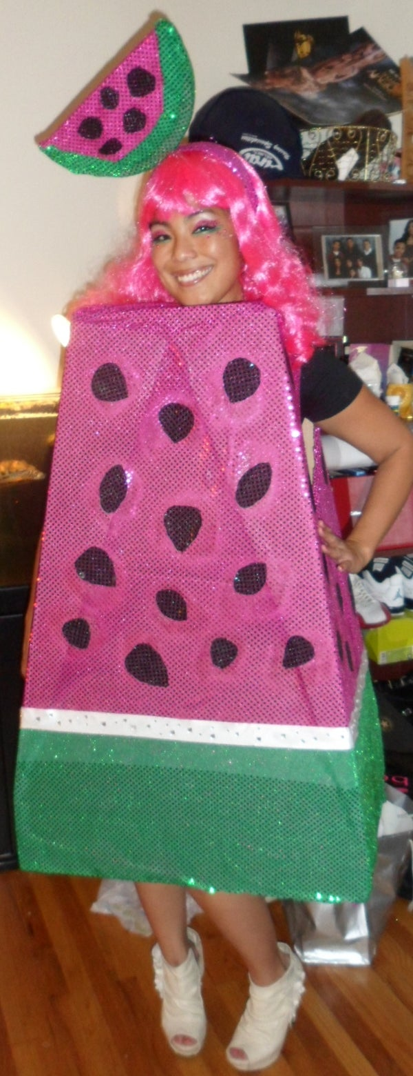 Creating an Out of This World Watermelon Costume