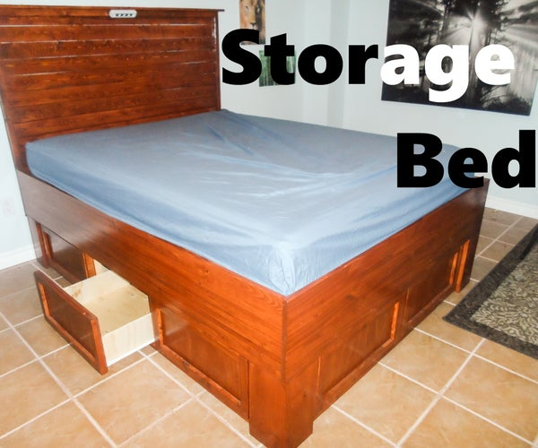 Storage Bed: Reclaiming the Unused Space! (Captains Bed)