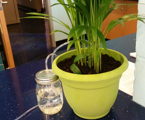 Indoor Automatic Plant Watering System