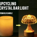Crystal Candle Bar Light