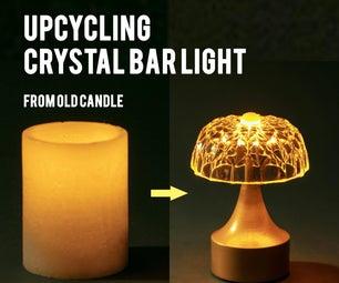 水晶蜡烛棒灯