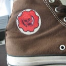 Color up your Converse Logo! Make em' Last!