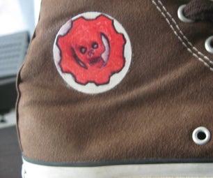 Color Up Your Converse Logo! Make Em' Last!