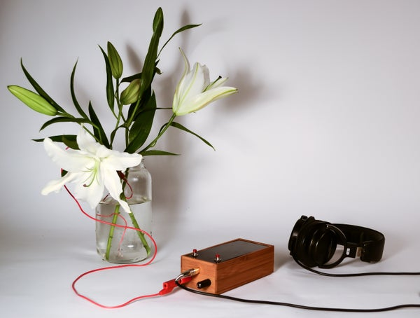 Singing Plant. Make Your Plant Sing With Arduino, Touche and a Gameduino