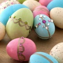 beautiful easter egg