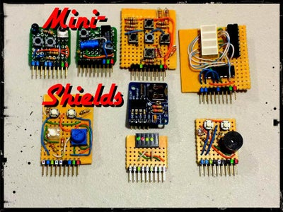 Let´s Return to Non Wireless Capable Boards... Shield Compatible Arduinos