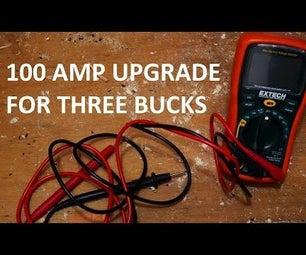 100 AMP Multimeter Upgrade