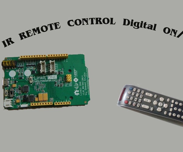 Linkit One-IR Remote Control Digital ON/OFF