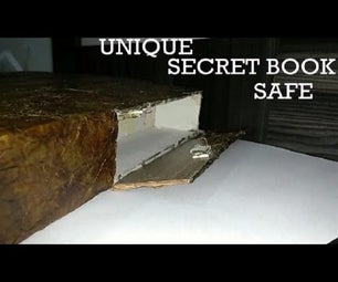 UNIQUE SECRET BOOK SAFE
