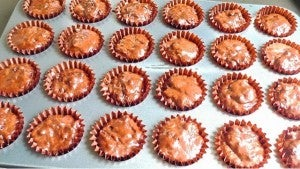 Fill the Muffin Cups Till 3/4 Full With the Batter.