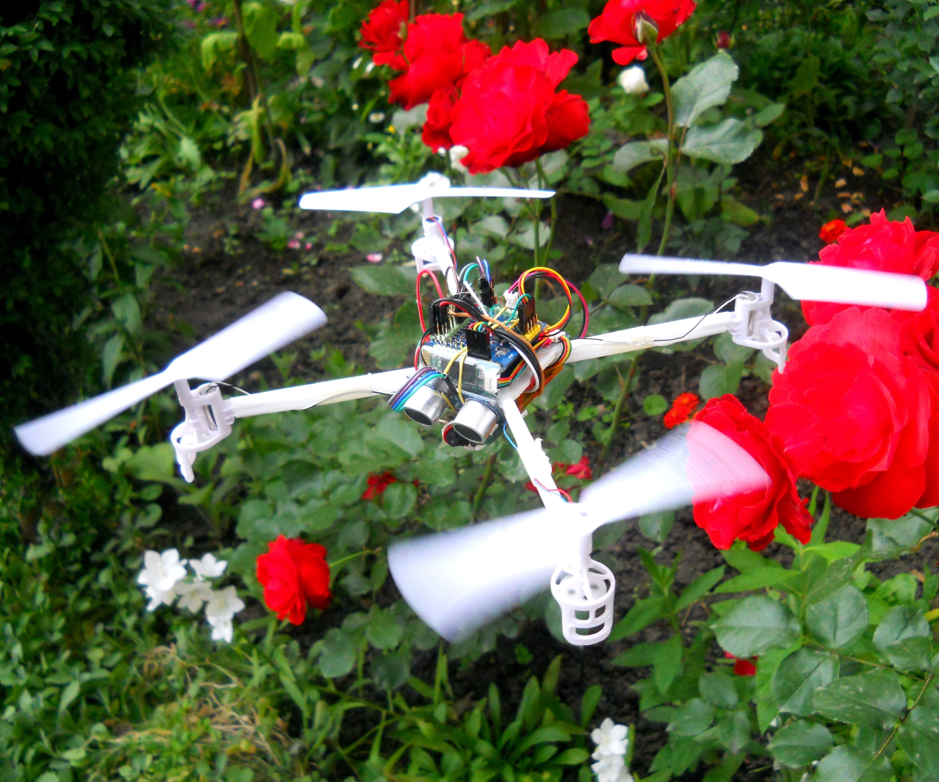 DIY Follow Me Drone With Camera (Arduino Based)