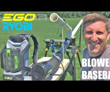 Remote Controlled Baseball Blower Pitcher